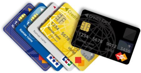 全種類のクレジットカードが使える!